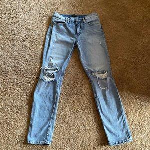 "Silver ""not your boyfriend's"" jeans 27 x 29"